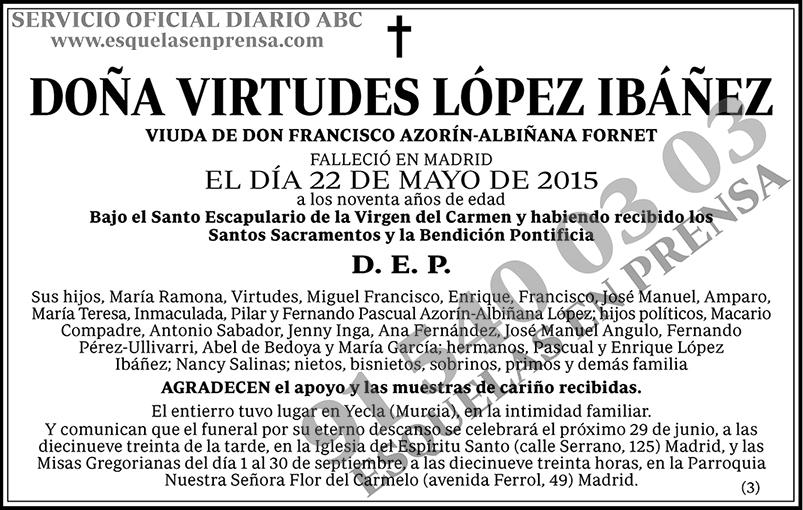 Virtudes López Ibáñez